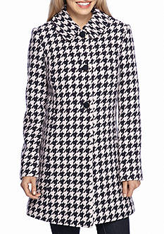 kate spade new york Club Collar Princess Seam Houndsthooth