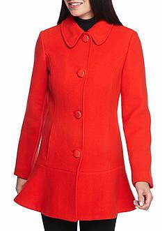 kate spade new york Club Collar Princess Seam Coat