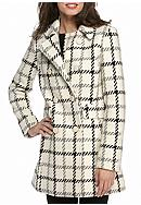 kate spade new york® Double Flap Pocket Plaid