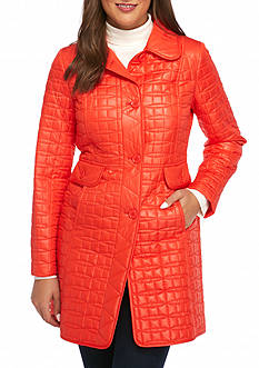 kate spade new york Quilted Jacket with Princess Seam