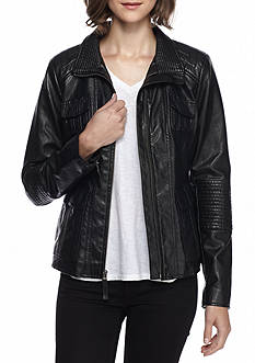 Lucky Brand Asymmetrical Zip Moto Jacket