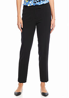 Anne Klein Solid Tailored Pant