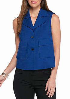 Anne Klein Sleeveless Jacket
