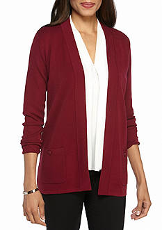 Anne Klein Dual Pocket Cardigan