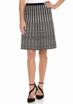 Anne Klein Textured Knit Skirt