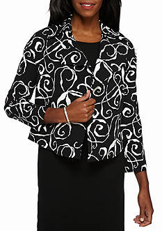 Anne Klein All Over Print Jacket