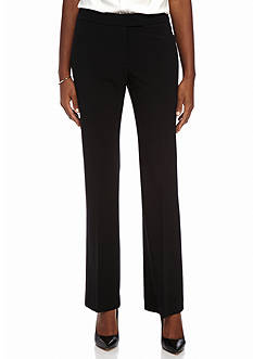 Anne Klein Flat Front Tailored Pants
