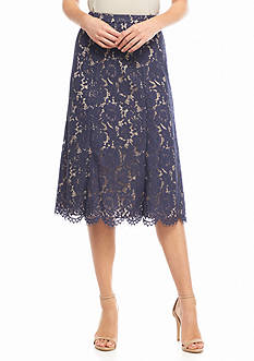 Anne Klein Lace Skirt
