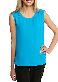 Anne Klein Solid Scoop Neck Cami