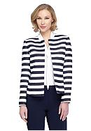 Tahari ASL Stripe Jacket