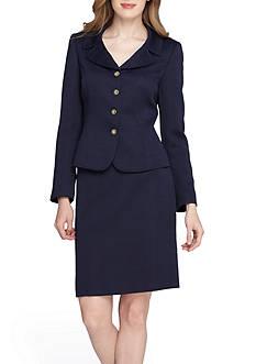 TAHARI™ Jacquard Skirt Suit