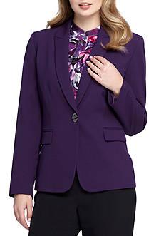 Tahari ASL Single Button Jacket