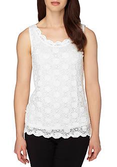 Tahari ASL Lace Cami