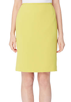 Tahari ASL Crinkle Pencil Skirt