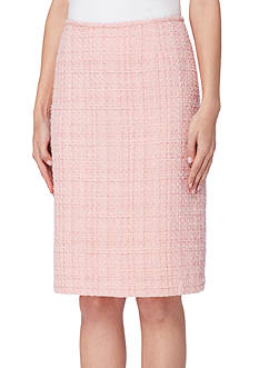 Tahari Boucle Skirt