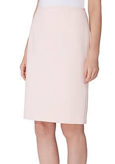 Tahari ASL Crepe Straight Skirt