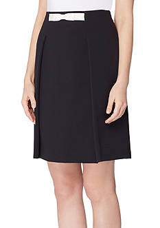 Tahari ASL Inverted Pleated Skirt