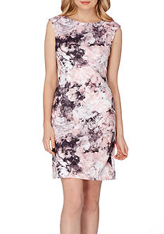 Tahari ASL Printed Scuba Dress
