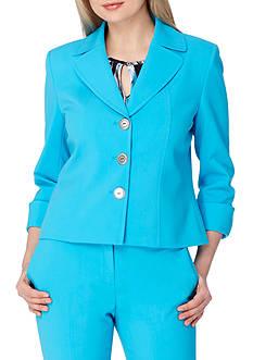 Tahari ASL Bi-Stretch Cuffed Sleeve Jacket