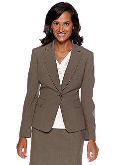 Tahari ASL Taupe Jacket