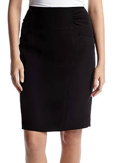 Nine West Rouched Waist Skirt