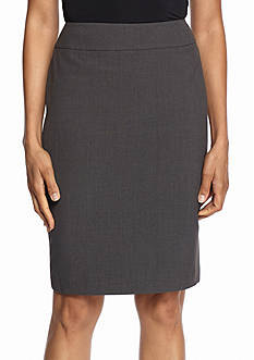 Nine West Bi-Stretch Straight Skirt
