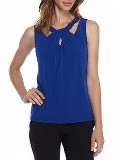 Nine West Crisscross Jersey Cami