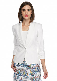 Nine West One Button Jacket