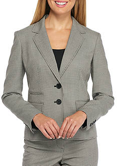 Nine West Houndstooth Dual Button Jacket