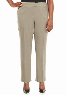 Nine West Plus Size Straight Stretch Pant