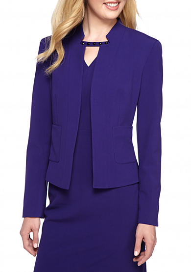 Nine West Taylor Kiss Front Jacket