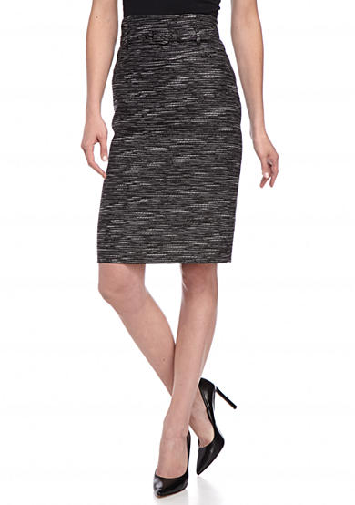 Nine West Tweed Slim Skirt