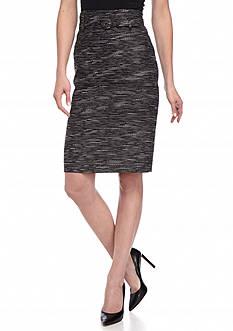 Nine West Tweed Slim Skirt