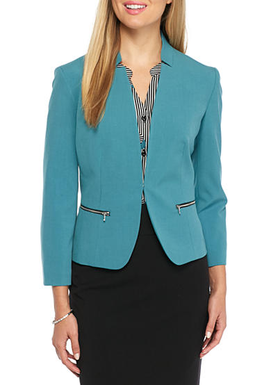 Nine West Single Hook Jacket