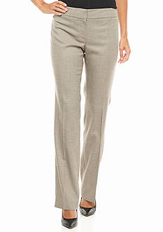 Nine West Mini Houndstooth Pants