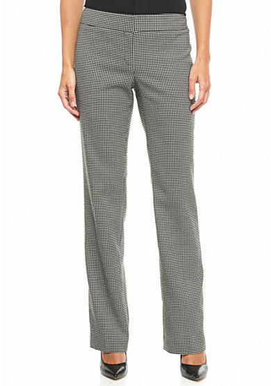 Nine West Checked Pants