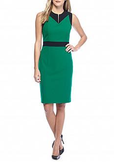 Nine West Colorblock Sheath Dress