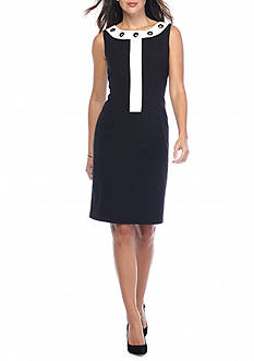 Nine West Woven Sleeveless Dress