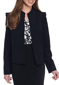 Nine West Pleated Shoulder Jacket