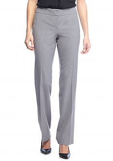 Nine West Flat Front Straight Pant