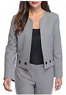 Nine West Open Front Jacket