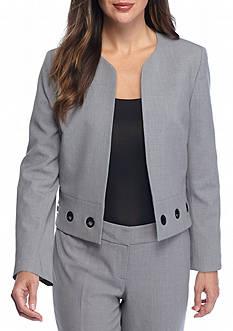 Nine West Open Front Jacket