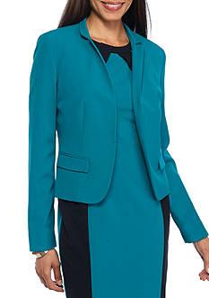 Nine West Inverted Collar Jacket
