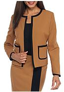 Nine West Border Contrast Jacket