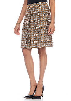Nine West Single Pleat Skirt