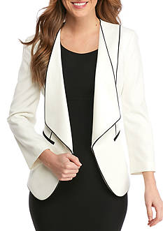 Nine West Wing Collar Jacket