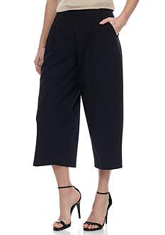 Nine West Solid Culotte Pant