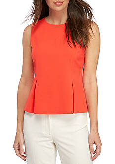 Nine West Back Zipper Shell Top