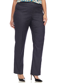 Nine West Plus Size Polished Denim Pant