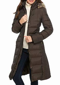 Anne Klein Channel Stitch Coat